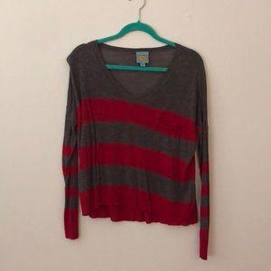 C & C California Striped Sweater